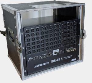 Allen & Heath iDR 48 Mixrack Verleih